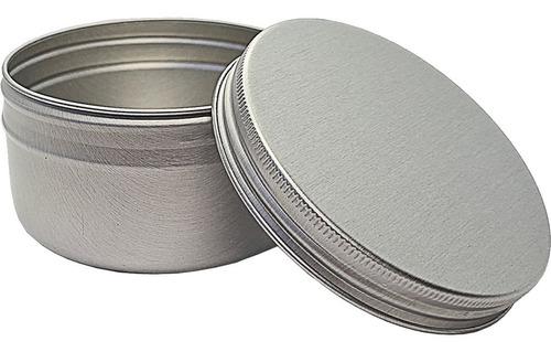 Imagem 1 de 4 de 10 Latas Potes Alumínio 100ml Lembrancinha