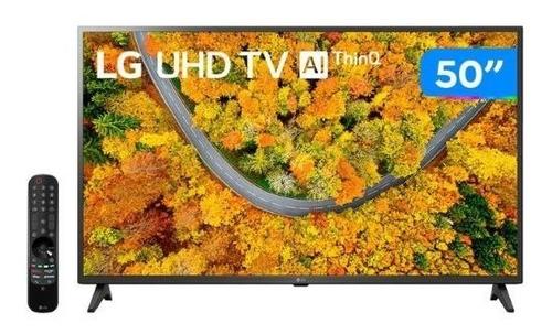 Imagem 1 de 6 de Smart Tv 50 LG Hd 4k Led LG 50up7550 Hrd Wifi Al Thinq
