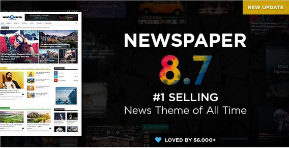 Newspaper V8.7.2 Portal De Noticias Em Wordpress 2018