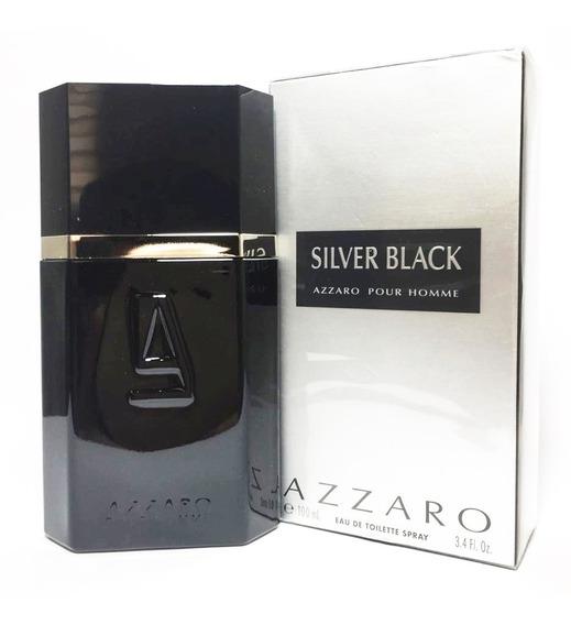 Perfume Azzaro Silver Black 100ml Original Lacrado