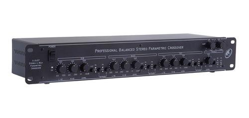 Crossover Processador Profissional Ll Áudio 4 Vias X24st Nca