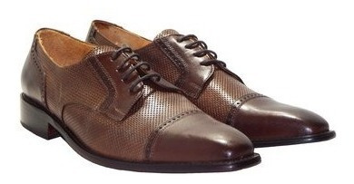 Zapatos De Vestir Acordonado Verona Cuero