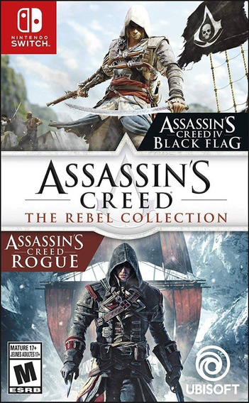 Jogo Assassins Creed The Rebel Collection - Switch