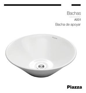 Bacha De Porcelana Sanitaria De Apoyar Piazza A001