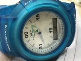 Relógio Casio G-shock Aw-500 Polar Science Center Impecável