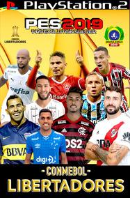 Pes 2019 Libertadores , Atualização De Julho. Jogo Ps2