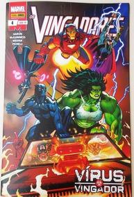 Hq Os Vingadores Nº 4 Edição Junho/2019 - Vírus Vingador