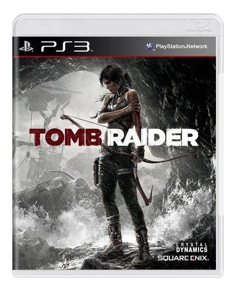 Tomb Raider Ps3 Mídia Física Pronta Entrega