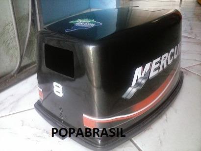 Capo Para Motor De Popa Mercury 8 Hp Japones