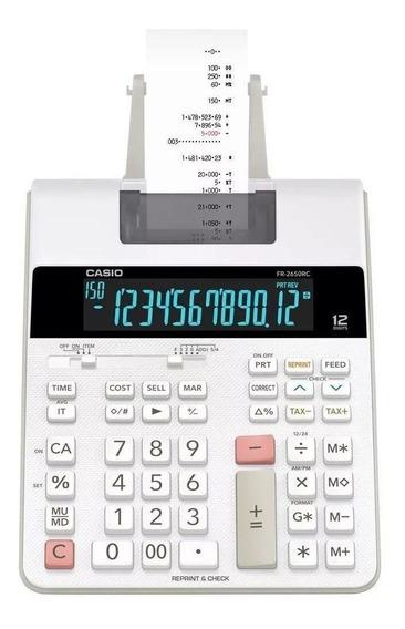 Calculadora Com Bobina Fr-2650rc-b-dc Branca