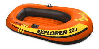 Bote Inflable Intex Explorer 200 Pileta Lago Rio Cuotas