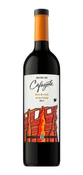Vino Rutas De Cafayate Frutado Red Blend Botella De 750 Ml