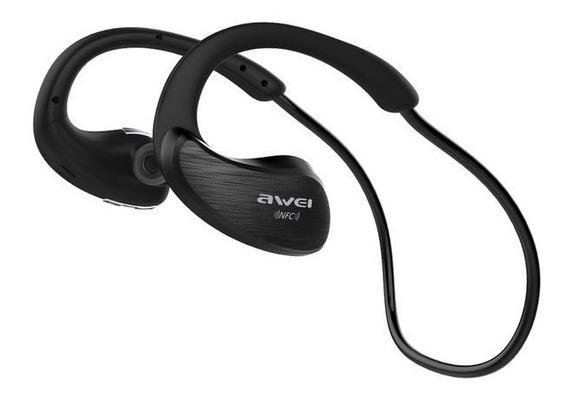 Fone De Ouvido Sem Fio Bluetooth Awei A885bl P/ Esportes