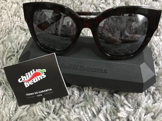 Óculos Solar Chilli Beans, Nunca Usado!