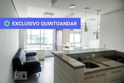 Apartamento No 10º Andar Mobiliado Com 1 Dormitório E 1 Garagem - Id: 892932964 - 232964