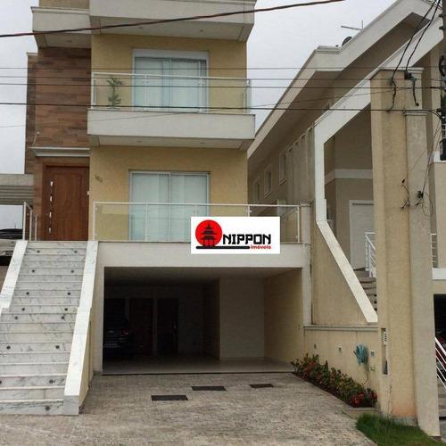 Casa Com 5 Dormitórios À Venda, 314 M² Por R$ 1.600.000 - Residencial Real Park - Arujá/sp - Ca0253