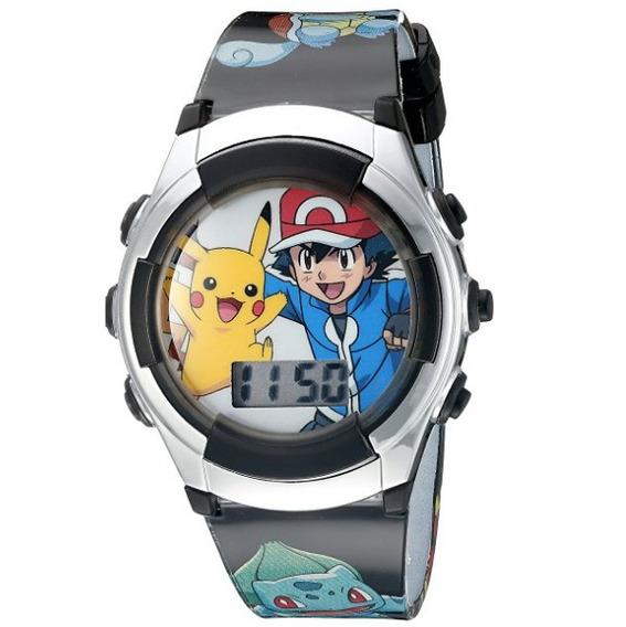 Reloj Pokemon Display Digital Niños Blakhelmet E
