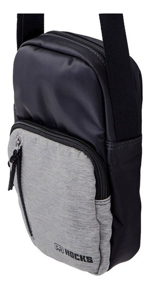 Shoulder Bag Hocks Preto/cinza