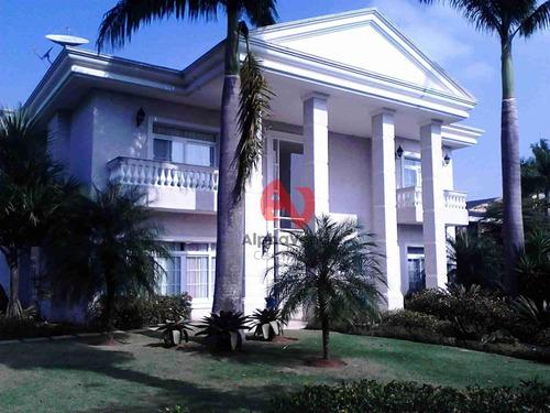 Imagem 1 de 16 de Tamboré 2 - Casa Com 5 Dormitórios À Venda, 1208 M² - Alphaville - Santana De Parnaíba/sp - Ca1299