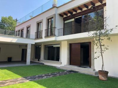 Hermosa Casa En El Corazon De San Angel