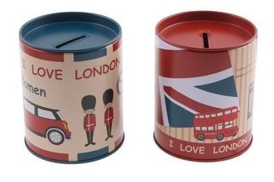 Alcancía Lata I Love London