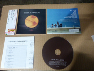 Coldplay Parachutes Incer + Obi Japon Cd Popsike