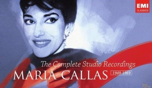 Maria Callas Boxset Cpte Studio Rec 70 Cds 1949-1969 - Novo