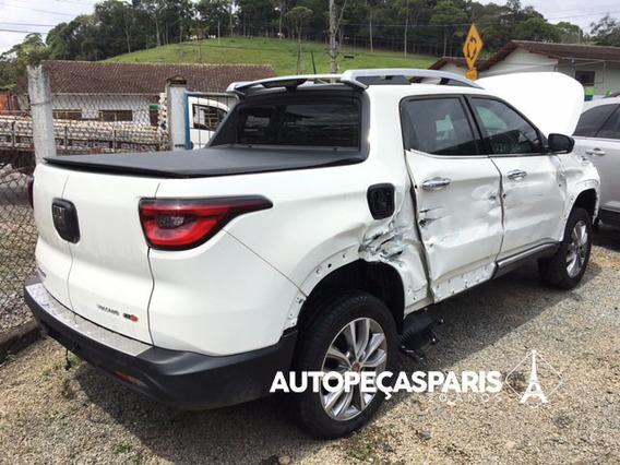 Sucata Fiat Toro Volcano Diesel At9 2018/2019 - Peças Toro