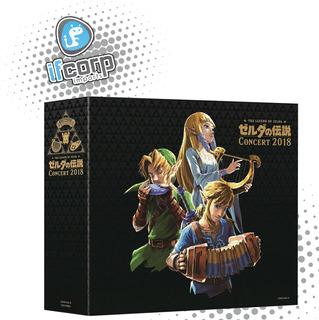 Soundtrack Bluray Concierto 2018 The Legend Of Zelda Cd