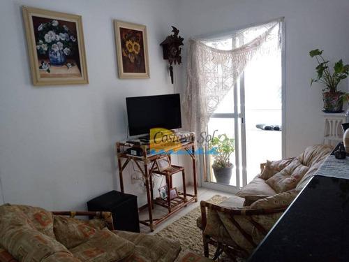 Imagem 1 de 17 de Apartamento Com 2 Dormitórios À Venda, 60 M² Por R$ 280.000,00 - Canto Do Forte - Praia Grande/sp - Ap10979