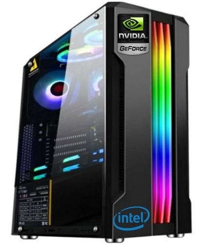 Imagen 1 de 6 de Computadora Gamer Intel I3 Geforce 1030 8gb 1tb Tranza