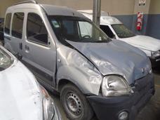Renault Kangoo Confort 1.9 D 2008 Chocado Para Reparar