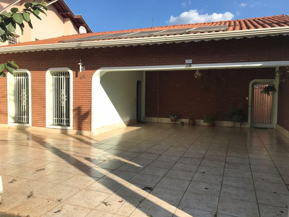 Casa Com 4 Dormitórios À Venda, 368 M² Por R$ 890.000 - Jardim Paraíso - Campinas/sp - Ca0370