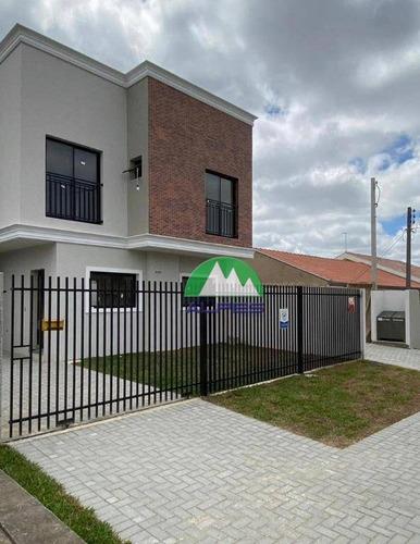 Sobrado Com 3 Dormitórios À Venda, 107 M² Por R$ 415.000,00 - Pinheirinho - Curitiba/pr - So1024