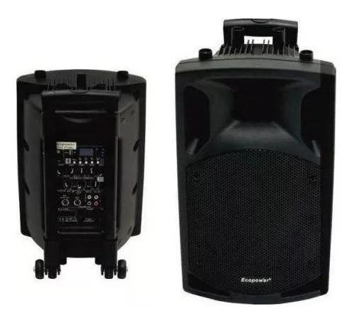 Caixa De Som Ecopower Ep-201 Sd / Usb / Bluetooth