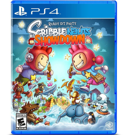 Jogo Midia Fisica Scribblenauts Showdown Original Para Ps4