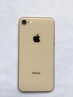 Carcaça iPhone 8 Gold Completa Original Retirada