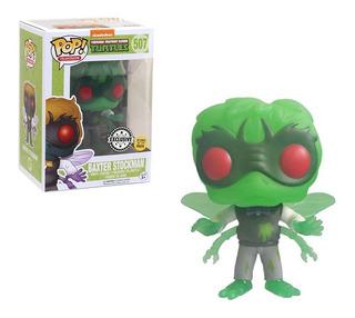 Funko Pop! Baxter Stockman Exclusive Glows Tortugas Ninjas