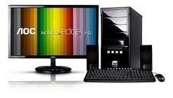 Computador I3-2100/3.1ghz/4gb/500gb/18,5 Usado