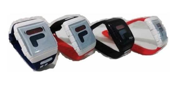 Reloj Fila Digital Caratula Iluminable Deportivo Nuevo 211a
