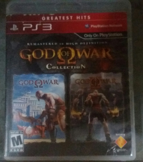 Ps3 God Of War Collection Mídia Física