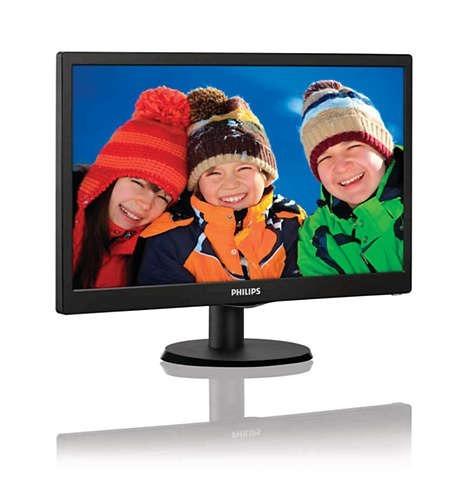 Monitor Philips 19 Lcd Smartcontrol Lite Hdmi Vga 193v5