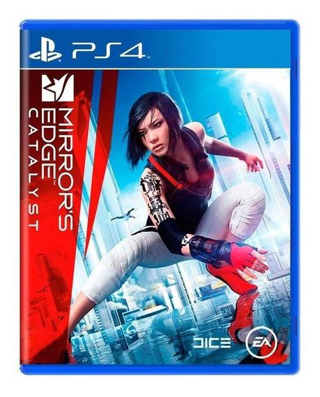 Mirrors Edge Catalyst Ps4 Mídia Física Pronta Entrega