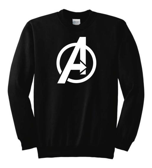 Sudadera Pullover Estampado De Avengers Marvel 100% Algodon