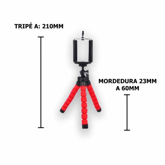 Mini Suporte Tripe Camera Abs Antiderrapante Celular