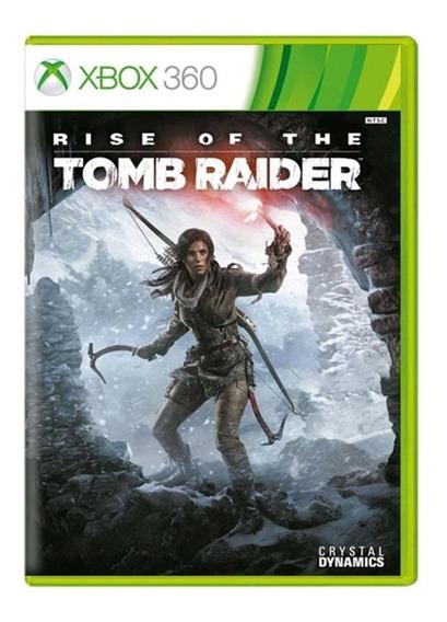 Rise Of The Tomb Raider - Xbox 360 - Usado - Original