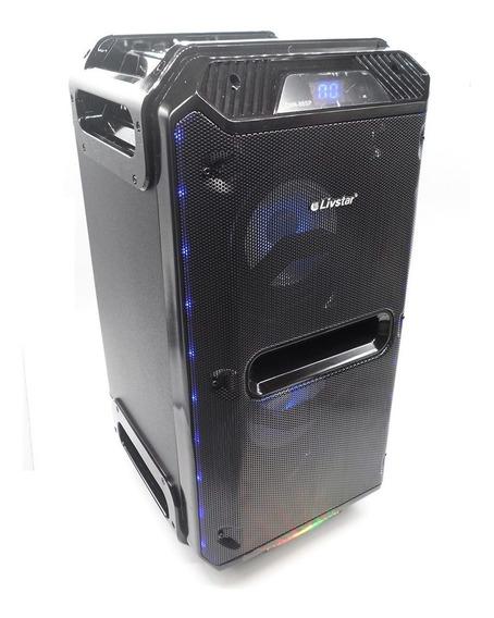 Caixa De Som Profissional Bluetooth 150w Rms Ativa Gravador
