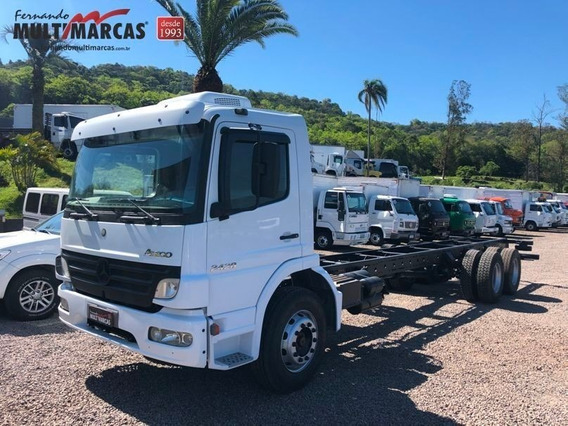 Mercedes Benz Atego 2428 - No Chassi Truck 6x2