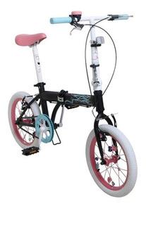 Bicicleta Plegable Bia Disney Rodado 16 Original Dencar
