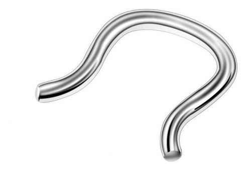 Imagen 1 de 5 de Piercing Septum Acero Quirurgico-reteiner-nariz
